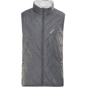 Meru White Rock Padded Vest Men anthra melange/silver